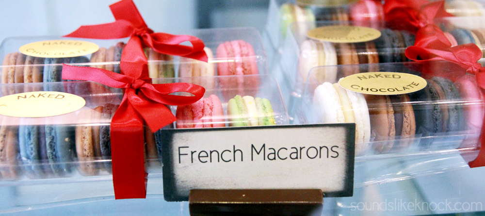 french macaroons from Naked Chocolate