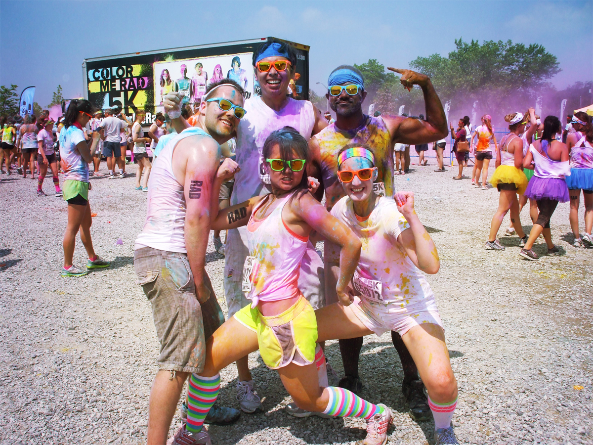 Colour me RAD group Toronto