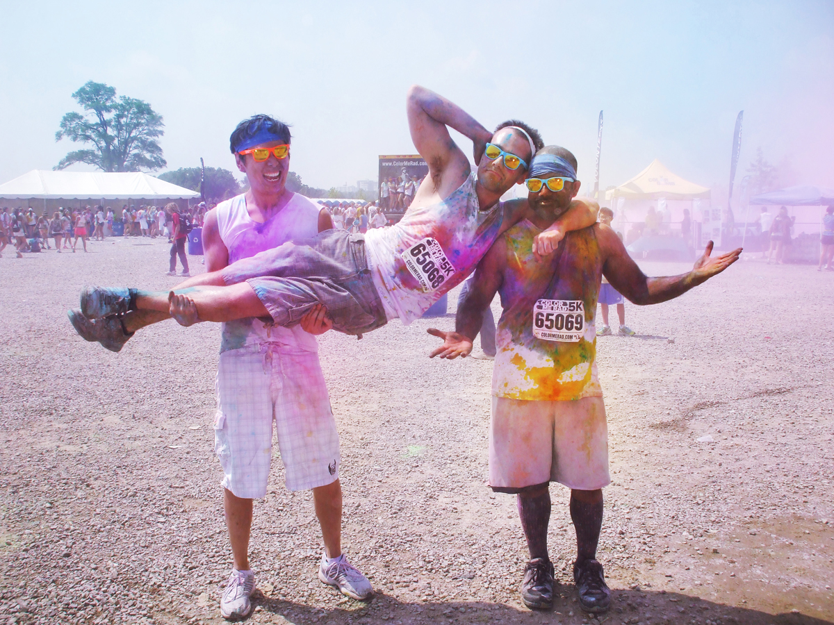 Colour me Rad boys
