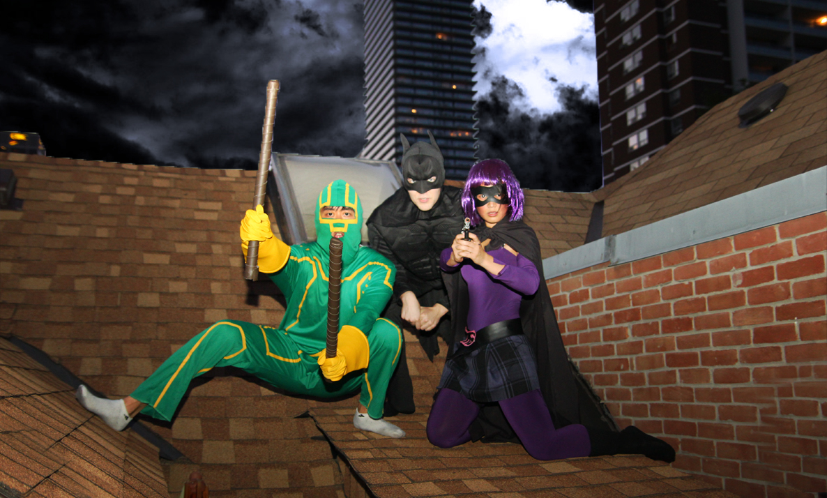 Kick-ass in toronto costume ideas